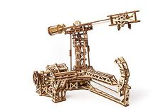 UGEARS creates eye-catching and imaginative self-propelled wooden mechanical model kits that can be assembled without glue.