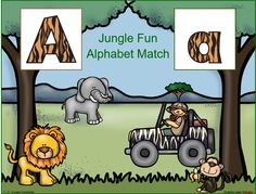 Jungle Fun Alphabet Match has been added to the 1 - 2 - 3 -Learn Curriculum web site. One of the fun literacy activities included in the Jungle Fun theme. Click on picture to subscribe for free downloads or to become a member and access all files on the 1 - 2 - 3 Learn Curriculum web site.