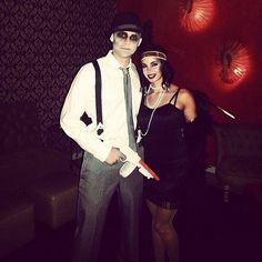 Zombie Gangster and Flapper | 50+ Sexy Halloween Couples Costume Ideas | POPSUGAR Love & Sex