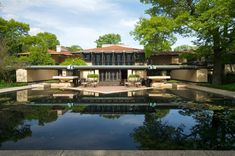Frank Lloyd Wright Inspired home...I love his designing....He was truly amazing!!
