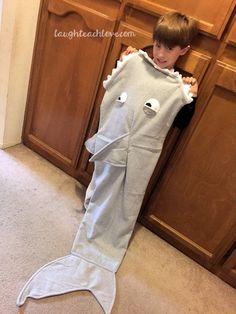 How to Make A Shark Snuggle Sack
