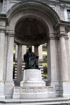 NYC - Bryant Park: William Cullen Bryant statue