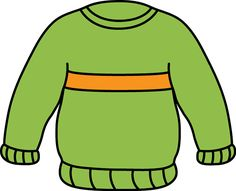 Green and Orange Sweater Clip Art - Green and Orange Sweater Image Oral Motor Activities, Quiet Time Activities, Orange Jumpers, Orange Sweaters, Rainbow Cartoon, Wooly Jumper, Baby Clip Art, Clipart Black And White, Bear Art