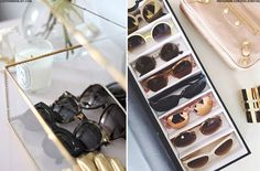 How To Store Your Sunglasses | sheerluxe.com
