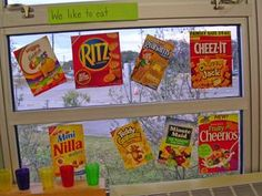 Interactive writing, use the snack boxes/bags you use and add on a chart. later can be used to teach consonant clusters, vowel sounds, the possibilities are endless.....