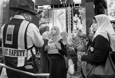 """""""Confrontation"""" Times Square, New York City © 2014 Harold Green."""
