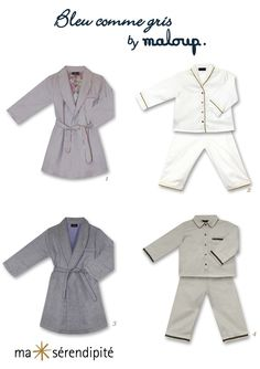 BLEU COMME GRIS by MALOUP sélectionné par Ma Sérendipité  |  Le nouveau label de pyjamas et vêtements homewear pour enfants de 0-14 ans  •  ©www.ma-serendipite.com