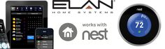 Elan Home Systems is compatible with Nest products.