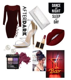 """""""Dance!"""" by peacock-style on Polyvore featuring Dorothy Perkins, AK Anne Klein, Lime Crime, Tom Ford, Bobbi Brown Cosmetics and Gucci"""