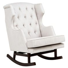 Empire Rocker for a traditional look with a modern twist  #LGRoselynNursery..i would love this for a nursery one day!