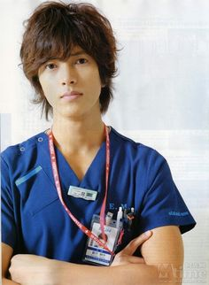 he can be my doctor anytime
