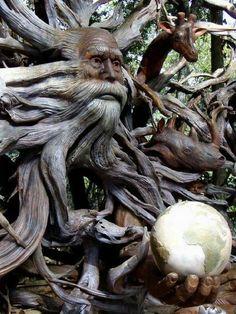 Weird tree man