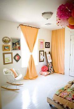 curtain half