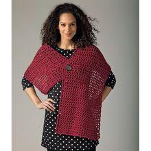 Lion's Pride® Woolspun® Crochet Shawl (Level 1)