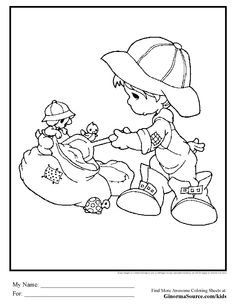 48 Best Precious Moments Coloring Pages QUILT Images On Pinterest