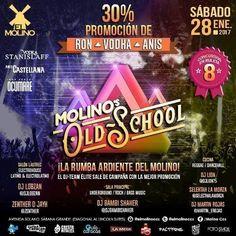 """El Molino presenta: """"Molino´s Old School"""" http://crestametalica.com/el-molino-presenta-molinos-old-school/ vía @crestametalica"""