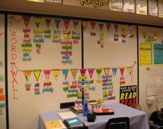 Word wall - for spelling. I'm doing it on a smaller scale for our homeschool.