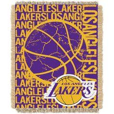 Northwest Los Angeles Lakers Double Play Blanket, Team