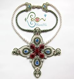 ソウタシエ・ネックレス KaoriNa. Soutache Necklace - Part of Me