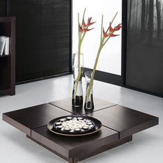 Kyoto 4 Tops Coffee Table Choco, 369€, now featured on Fab.