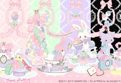 Angelic Pretty Wish me mell Tea Time