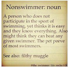 Swim Muggles.