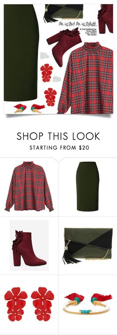 """Look For Office"" by mahafromkailash ❤ liked on Polyvore featuring LE3NO, Urban Expressions, Jennifer Behr and Aurélie Bidermann"