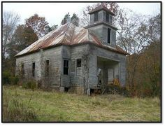 where have the children gone? Schoolhouse in Grainger County - Tennessee