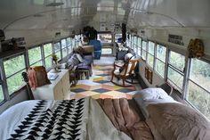 Skoolies - ein Schulbus wird zum Eigenheim * Alt trifft Neu