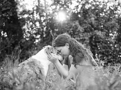 'Joy Sessions' capture tender moments with owners and terminally ill pets.  This photographer offers sessions with owners and pets who have been diagnosed with terminal illnesses.  What a beautiful idea!