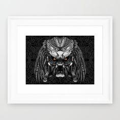 Aztec Alien Predator iPhone 4 4s 5 5c 6, pillow case, mugs and tshirt #artprint…