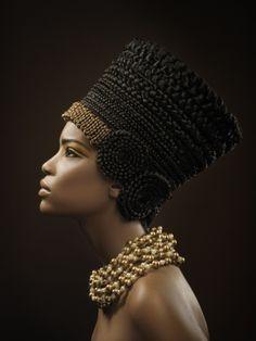 Nefertiti style