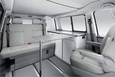 Interior nueva VW California