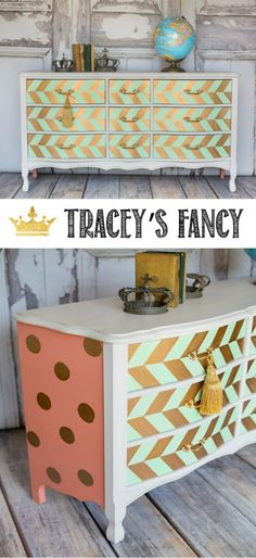 43 Best CORAL painted furniture images