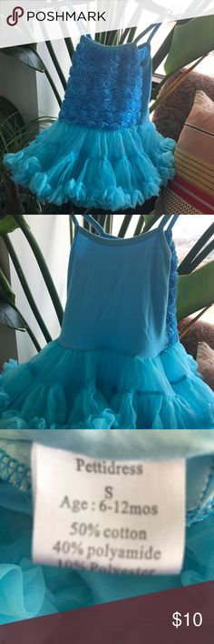 Girls tutu! Awesome play clothes for dress up.  Size says 6-12 months, but the fabric is stretchy so my daughter wore this up to 6 years old for dress up. unknown Costumes Dance