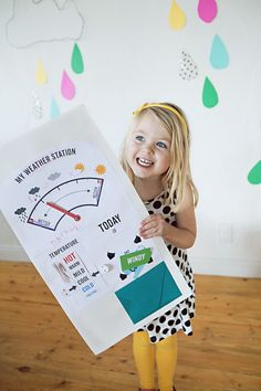 girls club weather station (printable) // You Are My Fave  @KaiLani Justine @Elizabeth C. Espinoza