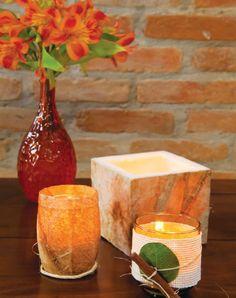 Sugestão criativa pra reutilizar o filtro de café: velas decorativas para casa!