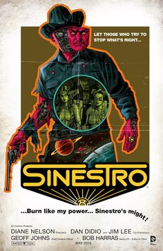 SINESTRO #11 Written by CULLEN BUNN Art and cover by BRAD WALKER and ANDREW HENNESSY MOVIE POSTER variant cover by DAVE JOHNSON On sale MARCH 25 • 32 pg, FC, $2.99 US • RATED T From the pages of SINESTRO: FUTURE'S END #1 comes the Apex League! We've seen the kind of destruction they'll bring down on the Sinestro Corps in the future. Now, learn how – and why – that conflict begins! Plus: Sinestro discovers a change that will pave the way to his ultimate goal!