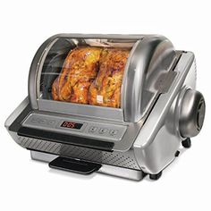 Ronco 5250 EZ Store Rotisserie Review & Giveaway ~ http://steamykitchen.com