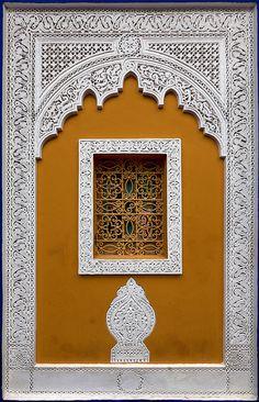 Villa Majorelle, Marrakech, Morocco Photo by Batistini Gaston Moroccan Design, Moroccan Decor, Moroccan Style, Islamic Architecture, Art And Architecture, Architecture Details, Cultural Architecture, Jardim Majorelle, Marrakech Morocco