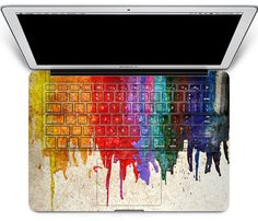 macbook decal sticker keyboard cover macbook sticker by MixedDecal, @21.16