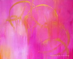 I can't resist pink and yellow {Art by Kerri Shipp}