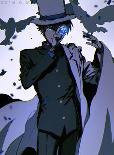 Kaito Kuroba, Kaito Kid, Amuro Tooru, Detektif Conan, Magic Kaito, Case Closed, Awesome Anime, Black Butler, Game Character