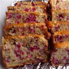 """Cranberry Orange Bread  """"This cranberry orange bread is great for breakfast or a snack. You can also make muffins; just spoon the batter into greased muffin cups and bake at 375 degrees F (190 C) for 15 to 20 minutes."""