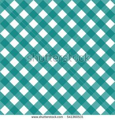 Seamless pattern green checkered. Christmas and New Year decoration. Classical cell diagonally.  Vector backdrop.