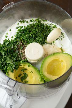 Avocado Greek Yogurt Ranch Dressing   Cooking Classy