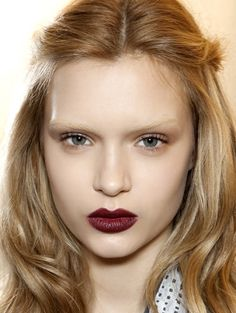 Image detail for -Make-up Trend Winter 2012/ 2013 – Glam Goth...love the lipstick shade the 90's look is back
