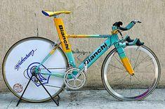 Pantani's Bianchi TT bike