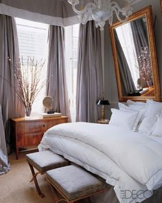 Love the colors and the fluffy bed :)