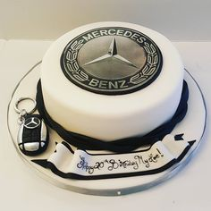 Mercedes Birthday Cake